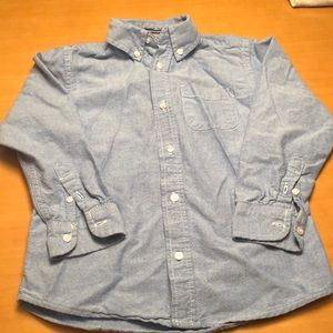 Children's place Chambray button up.